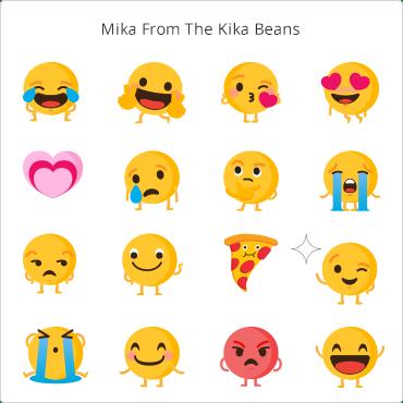 Kika Android Keyboard App - Free Keyboard Themes, Emoji