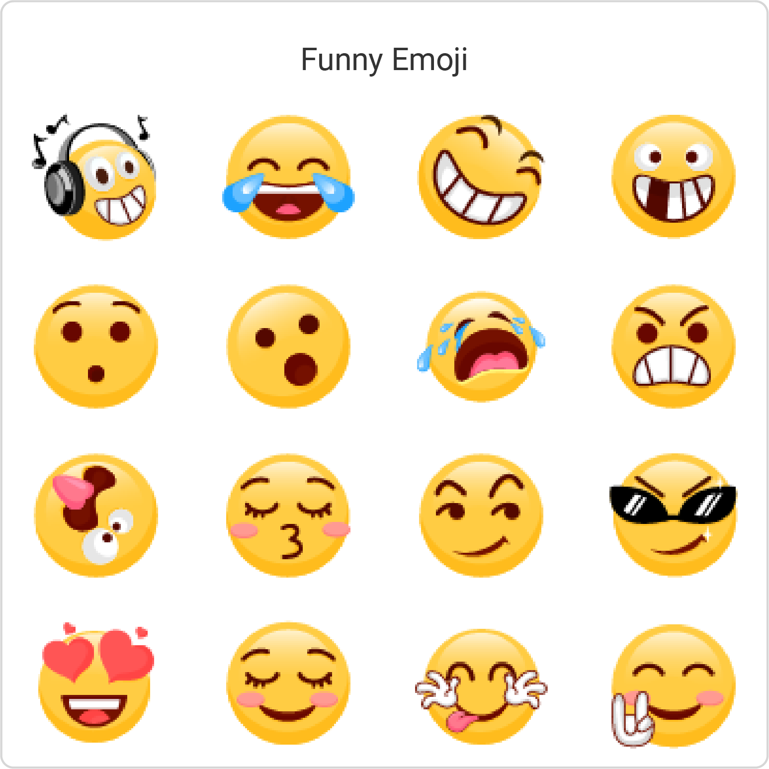 Free Keyboard Themes, Emoji
